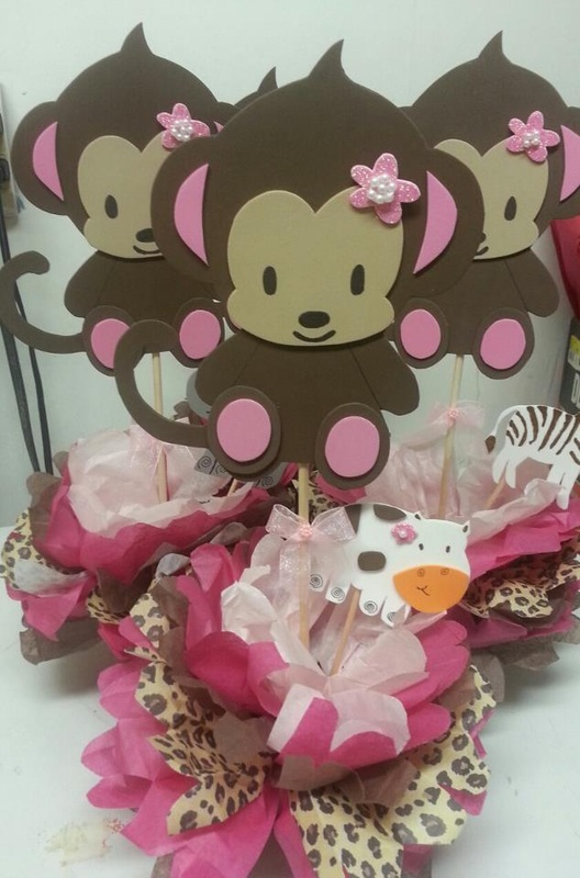 Baby Shower Theme Centerpieces - Adrianas Creations