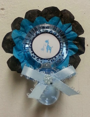 Baby Shower Theme Guest Pins Adrianas Creations